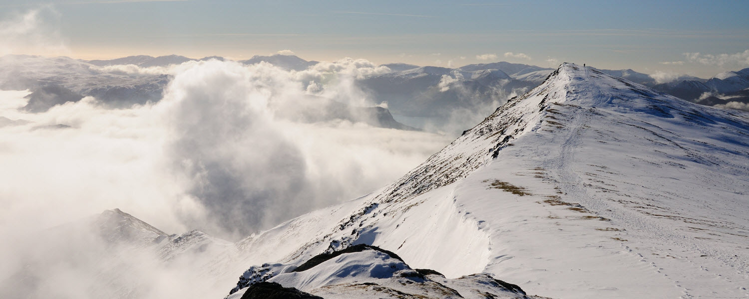 Blencathra summit ridge