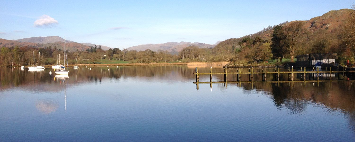 Lake Windermere at Waterhead, Cumbria