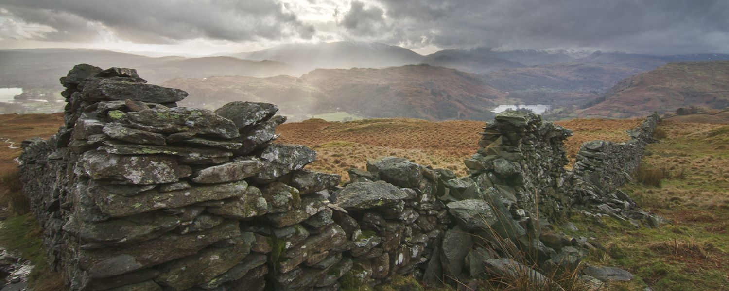 Looking west to Waterhead and Rydal